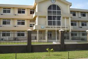 The Korle-Bu Teaching Hospital is the premier health care facility in Ghana.