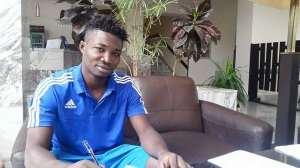Ghanaian defender Edward Kpodo inks one-year deal with Armenian side Gandzasar Kapan FC.