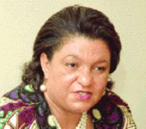 Hannah Tetteh - Trade Minister has been pushing the commodity exchange concept