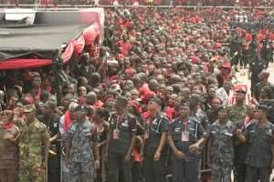 How the foreign media carried President Mills' burial