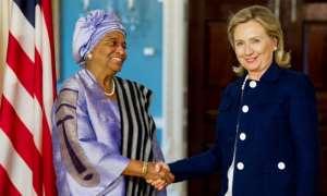 US-funded NGOs honours President Ellen Johnson as a leverage for more oil