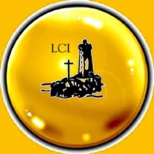 What kind of light is Lighthouse Chapel International shining?