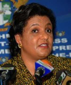 Hannah Tetteh - Minister of Trade