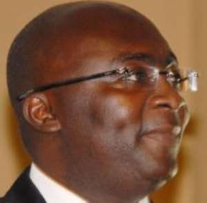 DR. BAWUMIAH TO SCHOOL GHANAIANS IN CANADA ABOUT PRESENT GHANA.