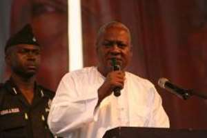 Mahama Promises All-Inclusive Government