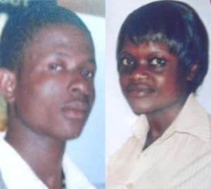 KILLER! Kwadwo Yeboah aka 'Makafi' and STABBED! Yaa Oforiwaa