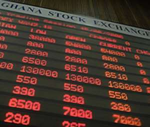 GSE Financial Stock Index Slips Downward