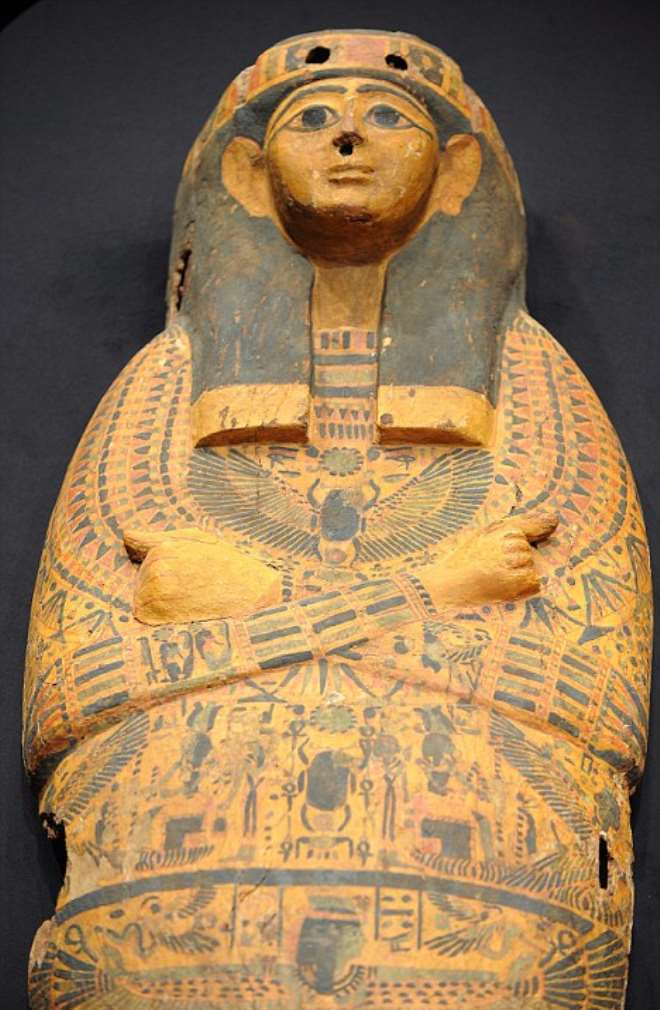 Sarcophagus returned to Egypt by United States of America