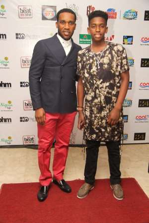 JAY JAY OKOCHA AND OTHERS ATTEND LOVE IS…THE MUSICAL