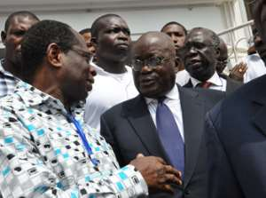 Akufo-Addo In Court