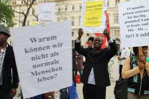 The Protest Against 15 Months Unjust Imprisonment Of Pastor Joshua Esosa In Vienna, Austria - Global Reporters Vienna