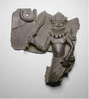 Plaque of a War Chief, Benin/Nigeria, Art Institute of Chicago ,Chicago, USA.