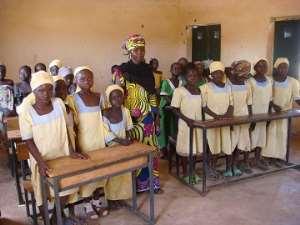 Primary 4 at Madugu Girl Child Education Centre, Jada Local Government Area, Adamawa State.