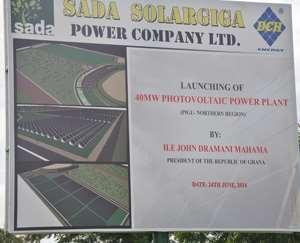 SADA Power Plant Backfires