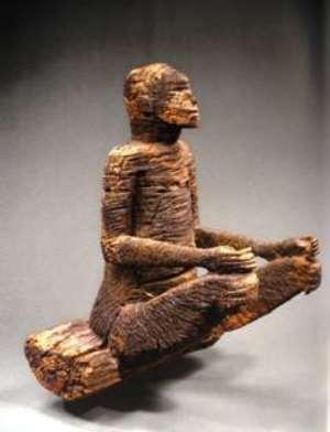 Ancestor figure, Musée du Quai Branly, Paris, France.