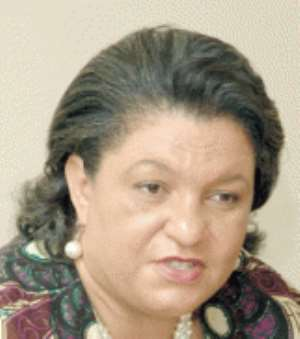 Ms Hanna Tetteh - Trade Minister