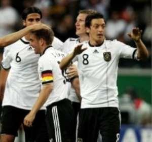 Germany walloped Argentina 4 - 0