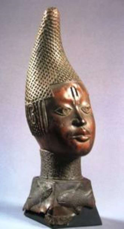 Queen Mother Idia, Benin, Nigeria, now Ethnologisches Museum, Berlin.
