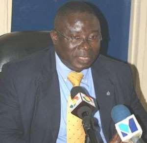 DCOP Prosper Agblor, Director-General of the Criminal Investigations Department