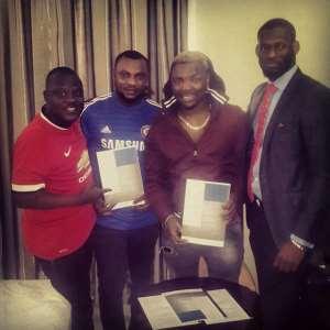 Oritse Femi Signs Multimillion Naira Deal