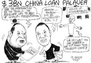 $3BN CHINA LOAN PALAVER