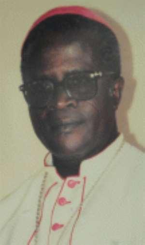Most Rev Johm Martin  Darko - Catholic Biship of Sekondi/Takoradi Diocese resign on health grounds