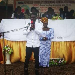 Sarkodie Advocates For Breastfeeding In Ghana
