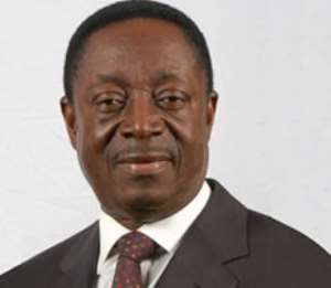 Dr. Kwabena Duffuor, Finance and Economic Planning Minister.
