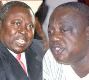 Martin Amidu and Benjamin Kumbuor
