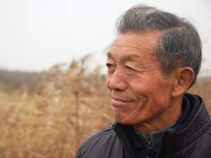 Yen Jingchang was one of the signers of the secret document. Jacob Goldstein/NPR