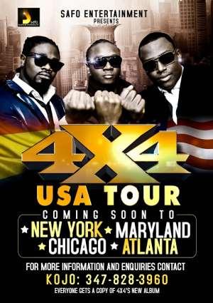 Ghana Goes International Again With 4 X 4