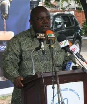 Ransford Tetteh, GJA President