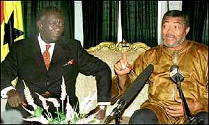 Reconciling Kufuor & Rawlings: Thanks Otumfuo, but...