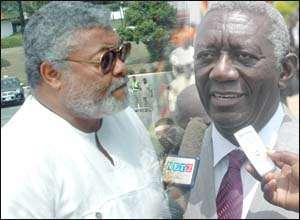 Is President Kufuor Afraid Of Chairman Rawlings?