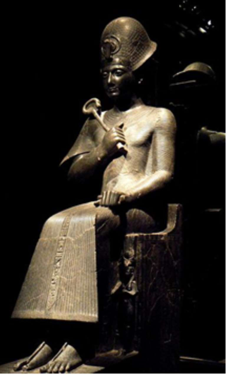 Statue of a young Ramesses II, Egypt, now in the Egyptian Museum of Turin.