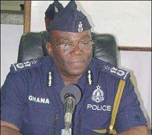 Inspector General of Police, Paul Tawiah Quaye
