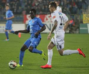 SEVERAL CLUBS FROM EUROPE WANTS DERRICK MENSAH FROM BANIK OSTRAVA