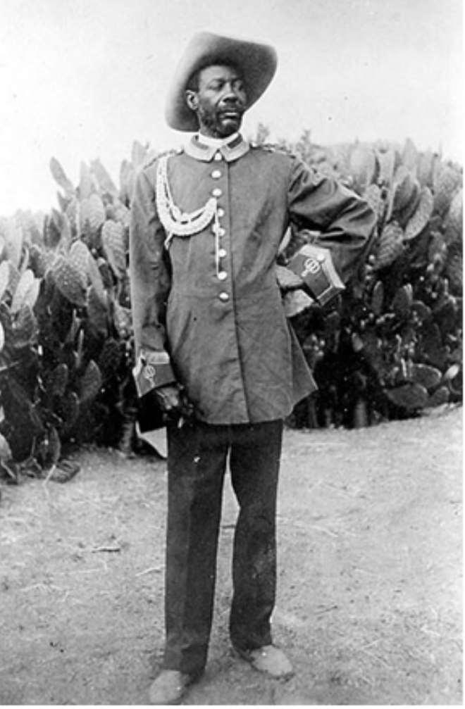 SAMUEL MAHARERO, (1856 - 14 MARCH 1923) HERERO CHIEF