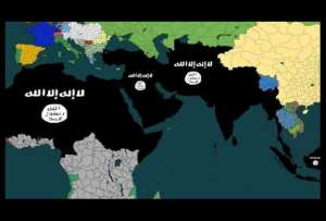 The ISIS terrorist group is sending the message that it intends to expand its territories beyond Syria and Iraq. It wants to conquer large swathes of Africa and Asia, as well as the entire Middle East.