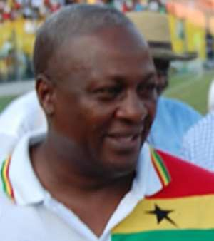 resident Dramani Mahama canvasses Ghanaian youth for Re-election Support