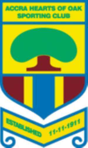 Hearts of Oak beat Amidaus Professionals 3-0 in friendly