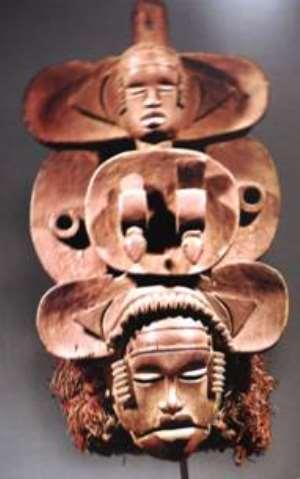 Face mask National Museum , Lagos,Nigeria.