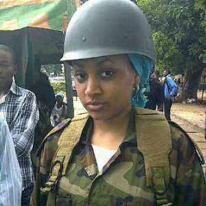 R-E-V-E-A-L-E-D: One Of Nigeria's Most Beautiful And Sixiest Female Soldiers