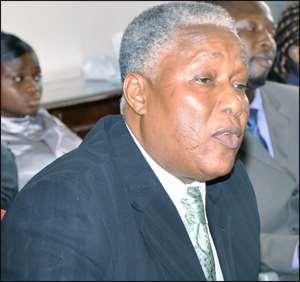E.T. Mensah-Minister of Employment, Social Welfare