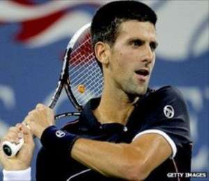 Novak Djokovic was imperious throughout the game.