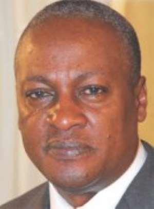 Vice-President John Mahama
