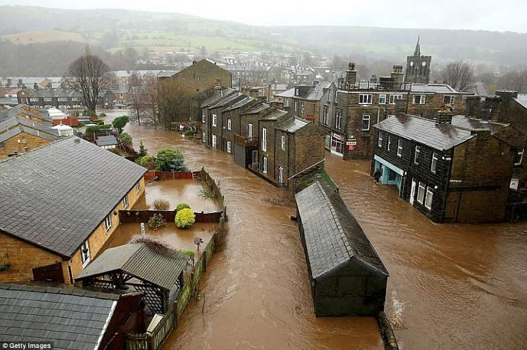 The day Britain went under UK hit by worst floods-dailyguide