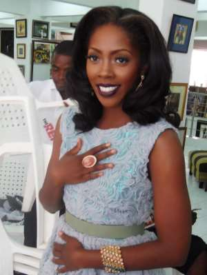 Solid Star Gives Me Goose Pimples' – Tiwa Savage