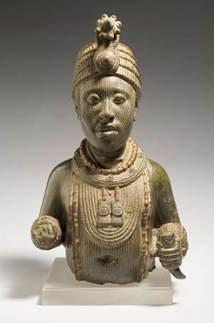 Torso of a king, Wunmonije Compound, Ife,   National Commission for Museums and Monuments Nigeria.