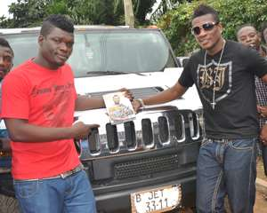 Castro and Asamoah Gyan